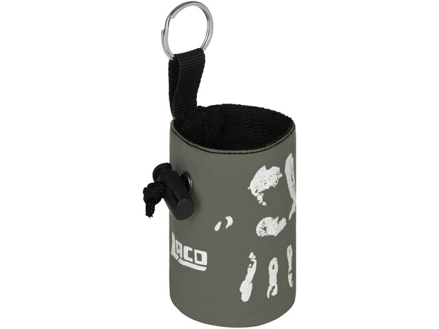 LACD Hand of Fate Chalk Bag with Belt charcoal